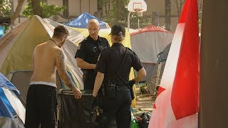 Tent city residents fear eviction