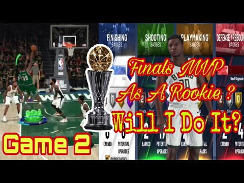 Can I Win Finals MVP As A Rookie? Game 2! | NBA 2K20