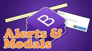 Gambar cover Bootstrap 4 Alerts & Modals   BOOTSTRAP 4 TUTORIAL