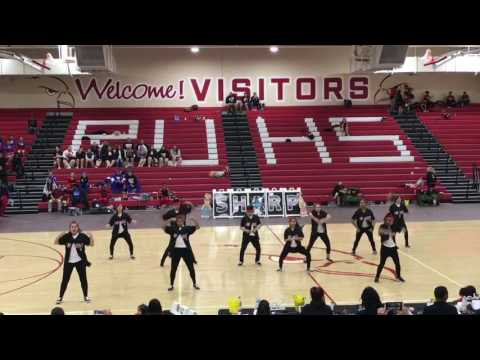 Lawndale H.S. Dance Team SHARP International Dance Competition at Redondo Union High School 4/8/17