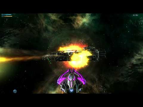Galaxy On Fire 2 (Full HD) - Flying The VoidX With The Best Weapons And Equipment
