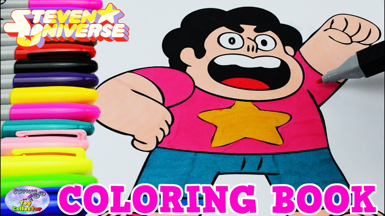 Steven universe coloring book episode show crystal gems Coloring book ep