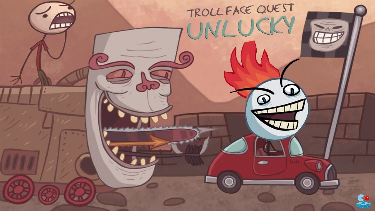Troll face quest: Unlucky for Android - Download APK free