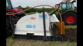 Glasfaserkabel schneller in den Boden mit Stehr Technik