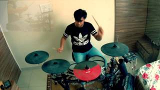 Hell's Kitchen Dreamtheatre Drum Cover By Jeet Sharma (Drummer)- Rhonit the Band