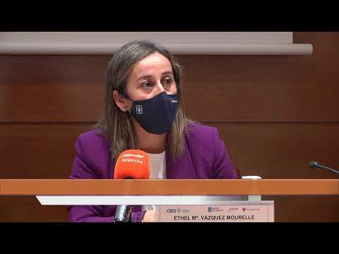 La conselleira Ethel Vázquez se reúne con la directiva de la CEO