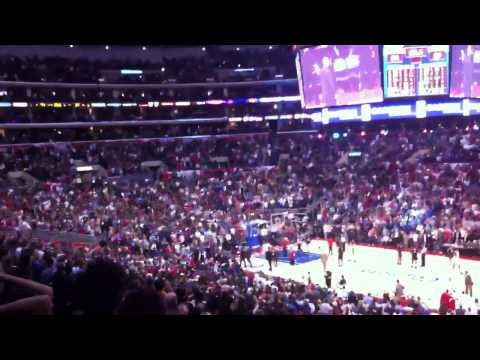 Ultimate clippers Victory over Heat Slam Dunk Lebron Wade Blake Griffin 1/11/2012