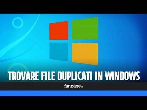 Come Cancellare File Doppi In Windows