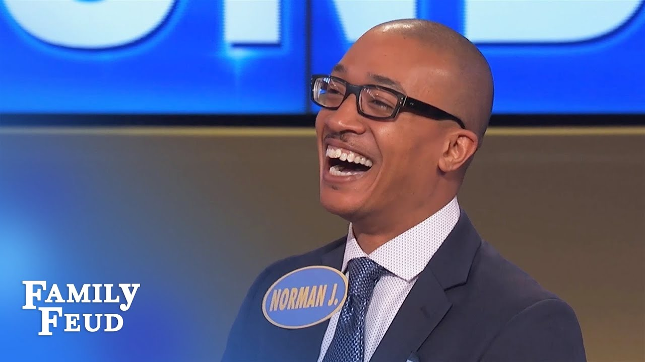 It ain't UP THERE but it's still a GREAT ANSWER! | Family Feud