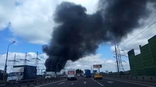 Пожар в Мытищах 01.06.2018