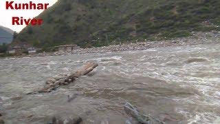 Beautiful Kunhar River In Naran Valley KPK Province Pakistan.