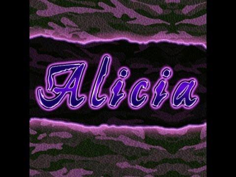 Alicia Fox Entrance
