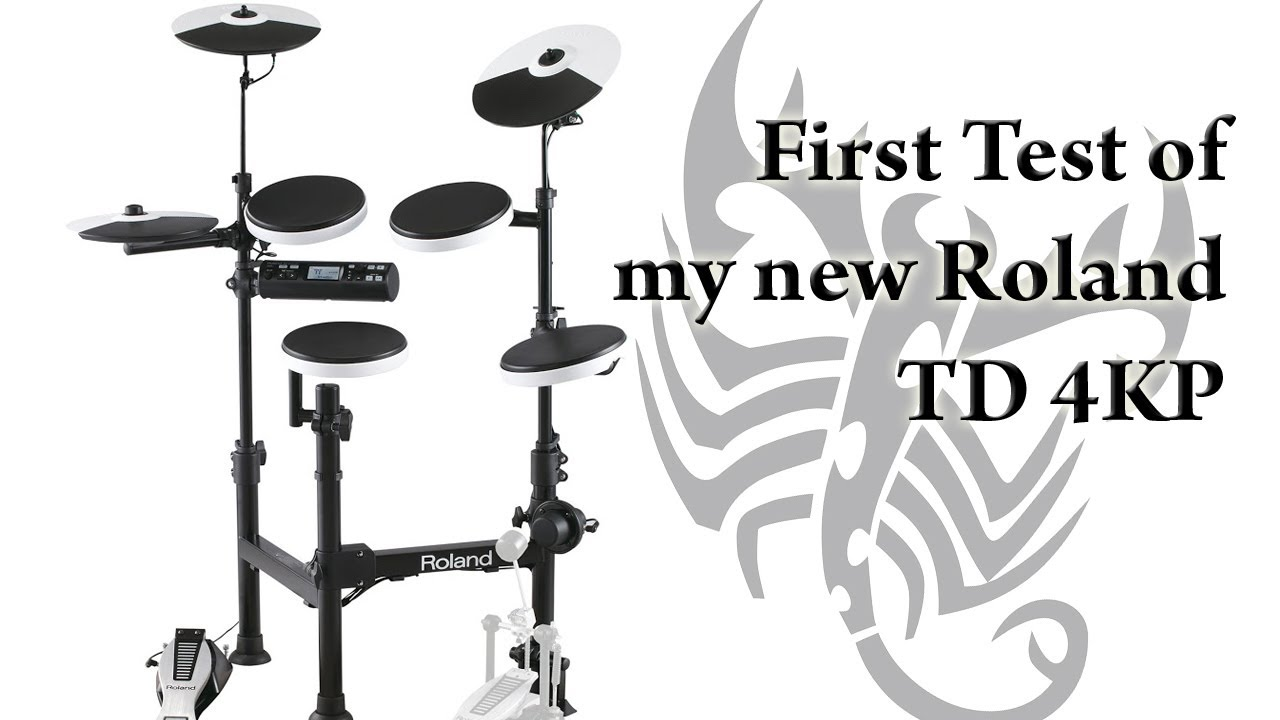 Roland TD-4KP Electronic Drums Video Review - YouTube