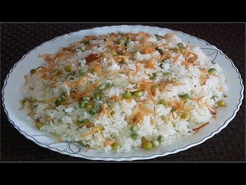 Matar Pulao Easy Homemade Bangla Recipe By Cooking Channel Bd