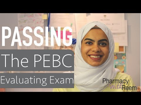 How I Passed My PEBC Evaluating Exam (EE)