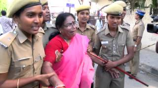 Jayalalithaa Wealth Case Judgement  - AIADMK men Attacking Karunanidhi's house - RedPix24x7