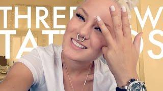 My THREE New Tattoos! | Katrin Berndt Thumbnail