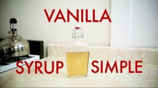 Bar Hacks-how To Make Vanilla Simple Syrup -drinks Made Easy