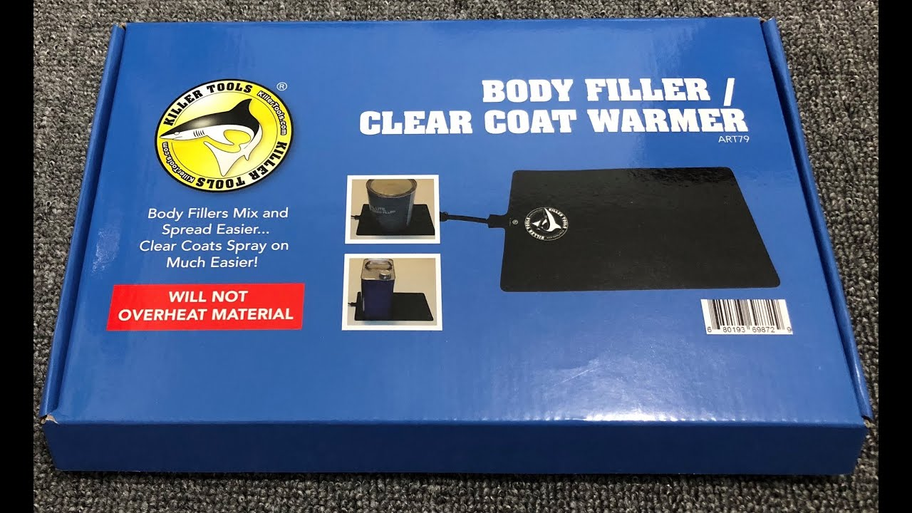 Clear Coat Warmer Killer Tools ART79 Body Filler