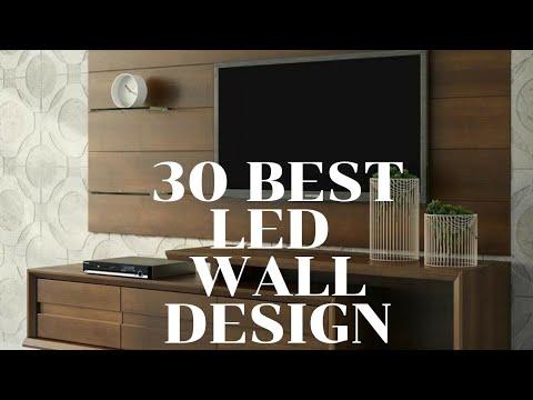 30 Modern Led Wall Design Youtube