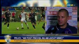 FC Botosani - FC Hermannstadt 2-0 / Declaratie Costel Enache (Liga 1, editia 2018-2019, et 2)
