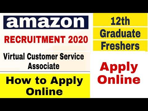 Amazon Recruitment 2020 I Virtual Customer Service Associate I Amazon Jobs 2020 I Apply Online