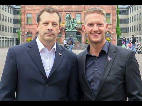 Hebeisen White Wings Hanau Interview mit Sebastian Bartholomäus und Simon Cote