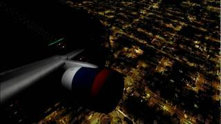 Captain Sim 757 takeoff