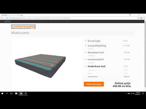 3D product configurator e-commerce