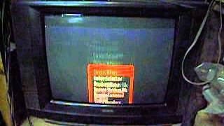 Меню блінкі упав NTSC