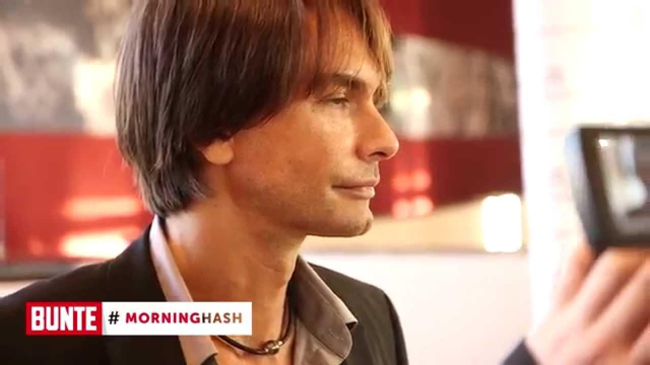 """BUNTE TV - #MorningHash 04. August 2014: Markus Schenkenberg: """"Ich hätte gerne ein Baby"""