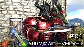 ARK: Survival Evolved - MODDED BEGINS !!! Ep. 01 (Gameplay)