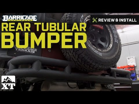 Jeep Wrangler Barricade Rear Tubular Bumper w/ Wrap-around (2007-2016 JK) Review & Install
