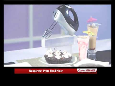 e17734d0d Wonderchef Prato Hand Mixer - YouTube