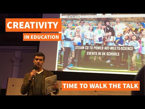 STEAM Co  pitch to the Royal Society of Arts - 'Creativity in Education : Walking the Talk'