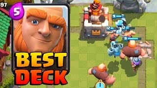 BEST/STRONGEST GIANT DECK | Clash Royale | Can He Stop Us?