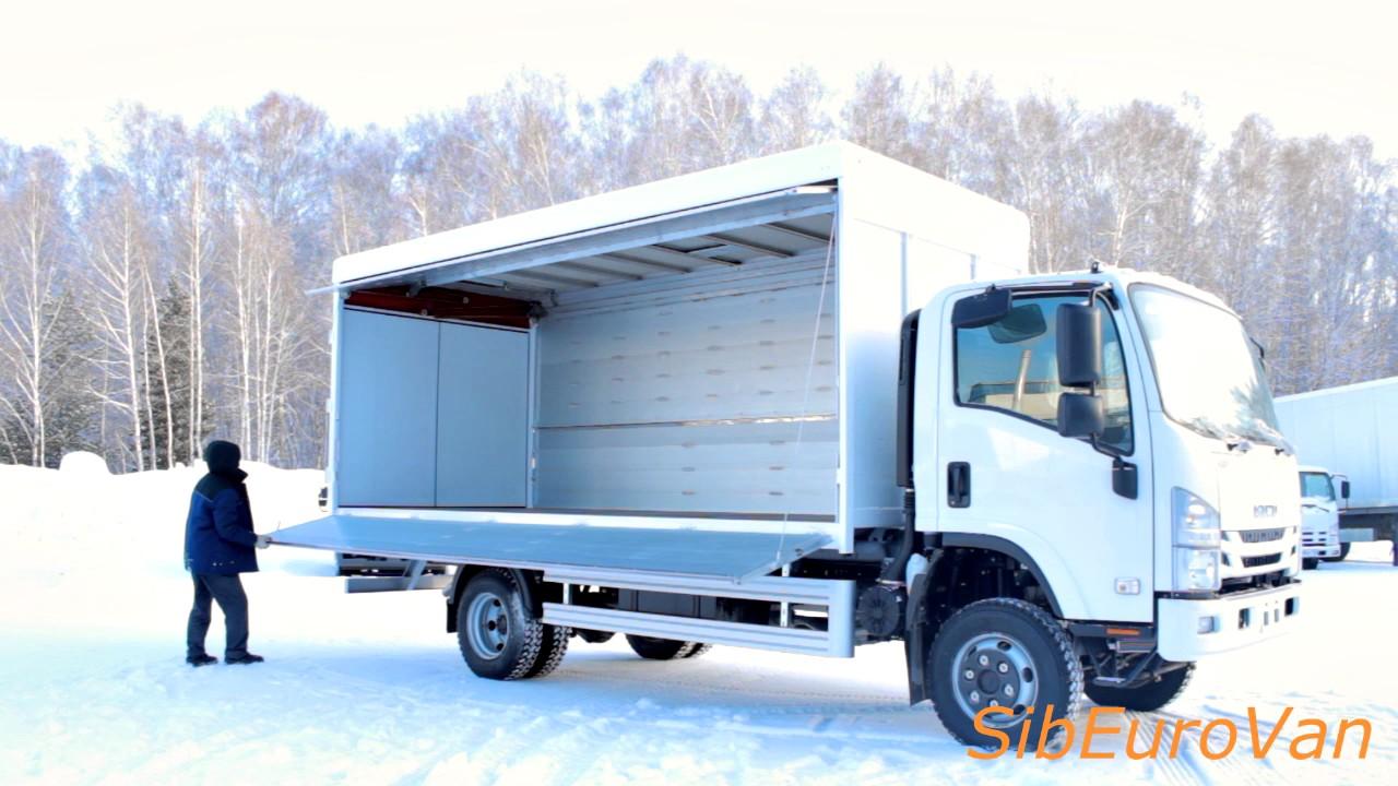 Фургон-бабочка производства SibEuroVan