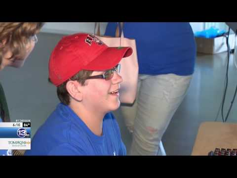 RIT on TV: MAGIC Center Grants Area Teen's Wish