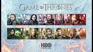 Stamps - Game of Thrones