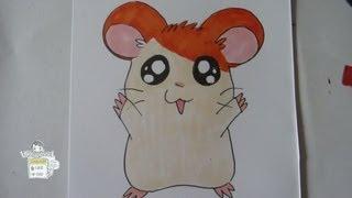 How to draw Hamtaro とっとこハム太郎