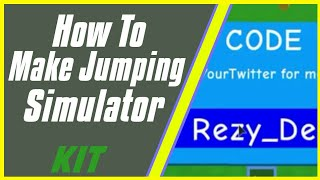 How to make Roblox Simulator Game | Jumping Simulator |