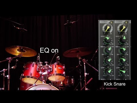 How To Mix Live Music Chapter 10 - EQ for Drums
