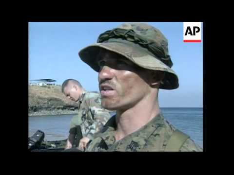 US and Philippine troops hold joint military training exercises