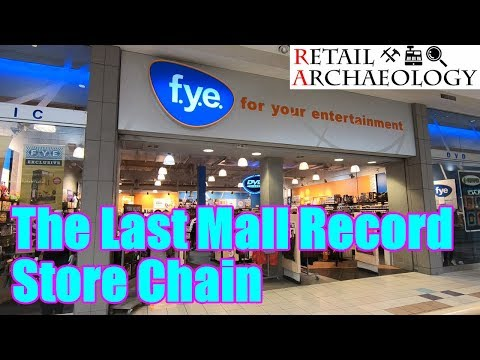 FYE: The Last Mall Record Store Chain   Retail Archaeology