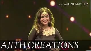 Vijay TV anchor Jacqueline dance performance