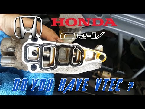How to clean Vtec Solenoid || Honda CRV CIVIC HRV R20A1