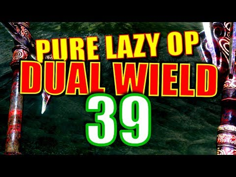 Skyrim Pure Lazy OP Dual Wield Walkthrough Part 39: Skirmishes on the Tundra thumbnail