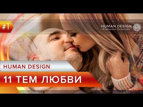 HUman Design — Дизайн Человека Ворота Любви — Отношения