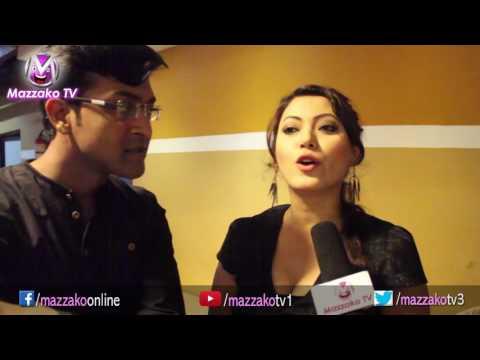 Mazzako Guff || Actress Harsika Shrestha & her Husband || हर्षिका र प्रसुन || Mazzako TV