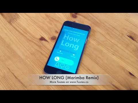 How Long Ringtone (Charlie Puth Tribute Marimba Remix Ringtone) • For iPhone & Android